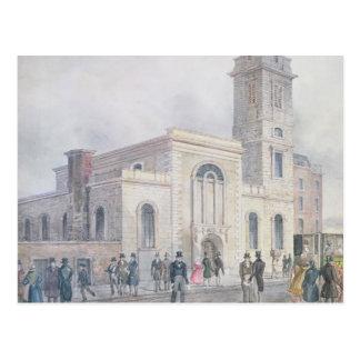 View of St. Bartholomew's Church Postcard