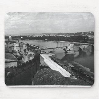 View of St. Benezet Bridge Mouse Pad