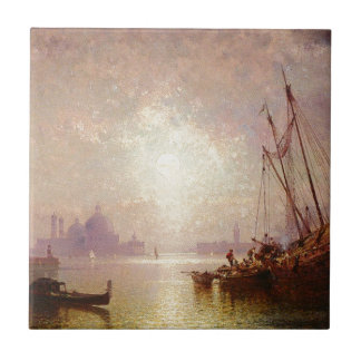 View of St George's, Venice by Franz Richard Tile