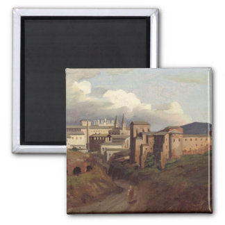 View of St. John Lateran, Rome, 1822 Magnet