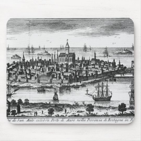 View of St. Malo Mouse Pad
