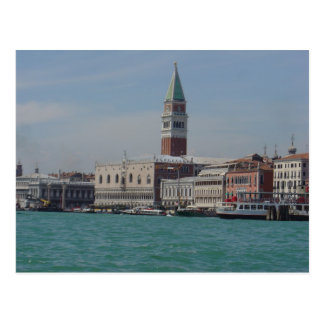 View of St. Mark's Square from Grand Canale, Venic Postcard