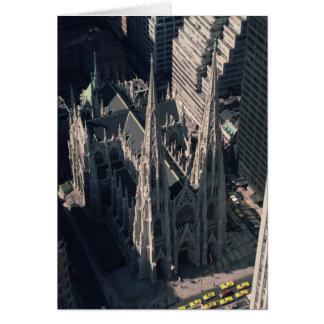View of St. Patrick's Cathedral Card