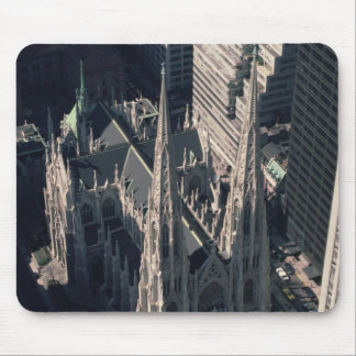 View of St. Patrick's Cathedral Mouse Pad