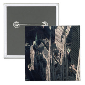 View of St. Patrick's Cathedral Pinback Button