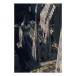 View of St. Patrick's Cathedral Poster
