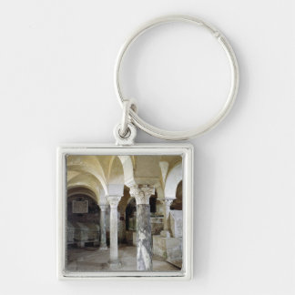 View of St. Paul's Crypt, c.634 AD Keychain