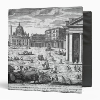 View of St. Peter's, Rome 3 Ring Binder