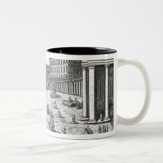 View of St. Peter's, Rome Two-Tone Coffee Mug