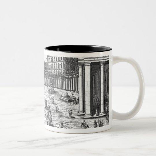 View of St. Peter's, Rome Two-Tone Coffee Mug