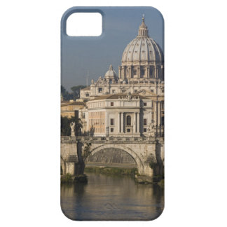 View of St Peter's with the Ponte sant' Angelo iPhone 5 Cases