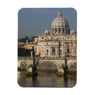 View of St Peter's with the Ponte sant' Angelo Magnet