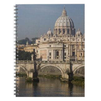 View of St Peter's with the Ponte sant' Angelo Notebooks