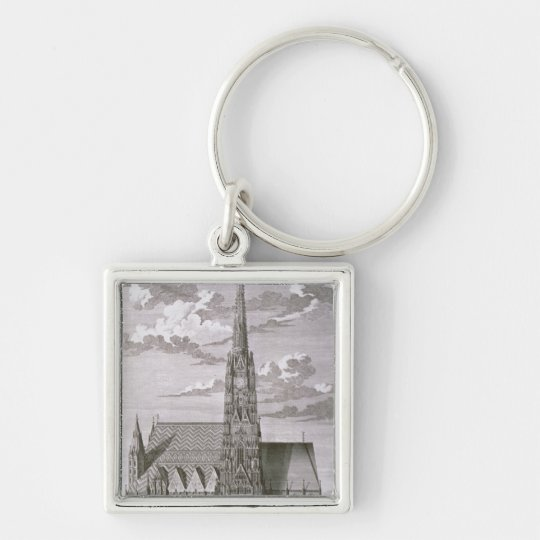 View of St. Stephan's Cathedral Keychain