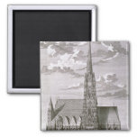 View of St. Stephan's Cathedral Refrigerator Magnets