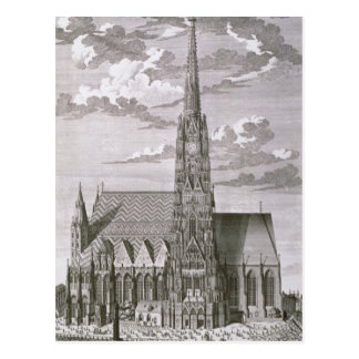 View of St. Stephan's Cathedral Postcard