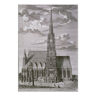 View of St. Stephan's Cathedral Print