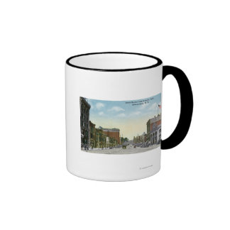 View of State Street from Crescent Park Mug