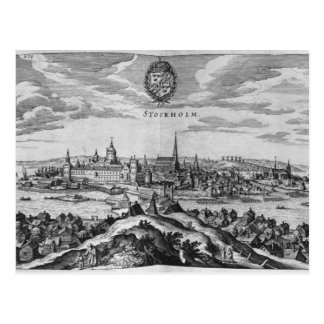 View of Stockholm Postcard