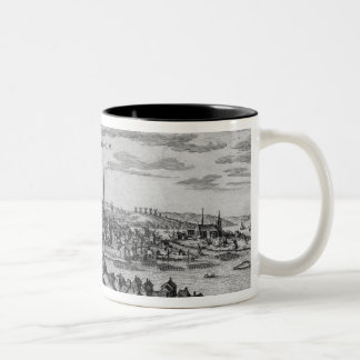 View of Stockholm Two-Tone Coffee Mug