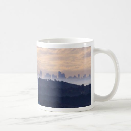 View of Sydney from The oaks NSW Coffee Mug