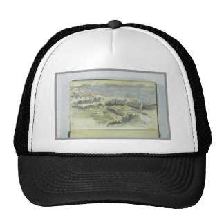 View of Tangier by Eugene Delacroix Trucker Hat