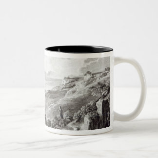 View of Tarquinia and Corneto Two-Tone Coffee Mug