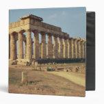 View of Temple E, c.490-480 BC Vinyl Binder