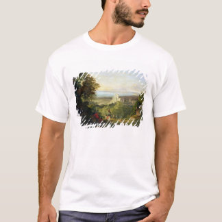 View of Terracina and Monte Circeo, 1833 T-Shirt