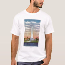 View of Texaco's Giant Thermometer T-Shirt