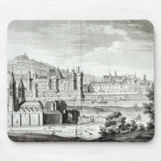 View of the Abbey of Saint-Germain-des-Pres Mouse Pad