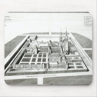 View of the Abbey of Saint-Germain-des-Pres Mousepad