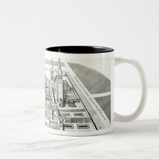 View of the Abbey of Saint-Germain-des-Pres Coffee Mug