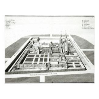 View of the Abbey of Saint-Germain-des-Pres Postcard