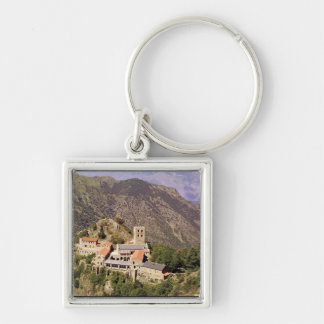 View of the Abbey of St. Martin du Canigou Keychain