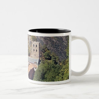 View of the Abbey of St. Martin du Canigou Coffee Mugs