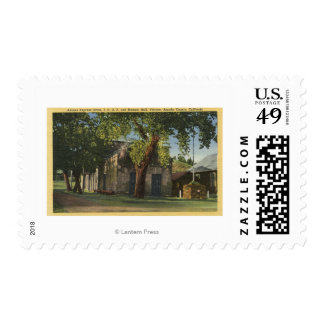 View of the Adams Express Office Postage Stamp