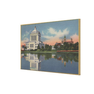 View of the Alameda County Court House Canvas Print