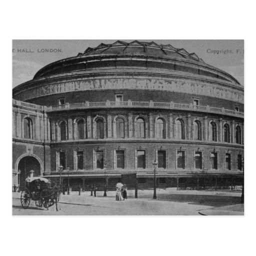 View of the albert hall postcard zazzle for Door 8 albert hall