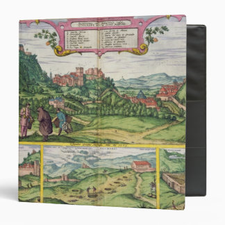 View of the Alhambra, from 'Civitates Orbis Terrar 3 Ring Binder