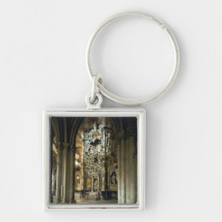 View of the altar and the 'Transparente', c.1720 Keychain