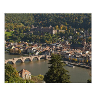View of the Alte Brucke or Old Bridge Posters