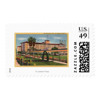 View of the Ambassador Hotel Postage
