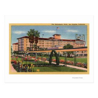 View of the Ambassador Hotel Postcard
