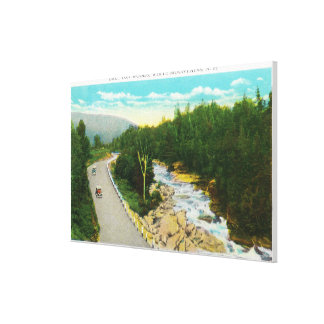 View of the Ammonoosuc Lower Falls Canvas Prints