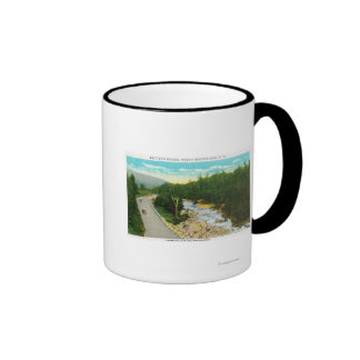 View of the Ammonoosuc Lower Falls Mugs