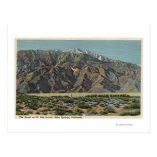 View of The Angel on Mt. San Jacinto Postcard