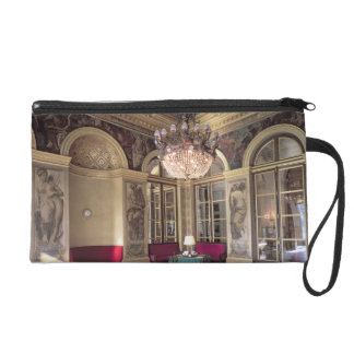 View of the Antechamber with allegorical depiction Wristlet Purse