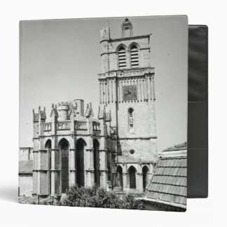 View of the apse and the tower, built binder