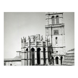 View of the apse and the tower, built post cards